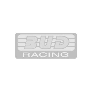Sweat zippé capuche Bud racing Logo noir