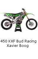 Kawasaki 450 KXF Team Bud Racing Xavier Boog
