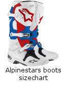 Alpinestars Boots Sizechart