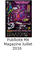 Publicité MX Magazine Juillet 2016