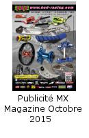 Publicité MX Mag Octobre 2015
